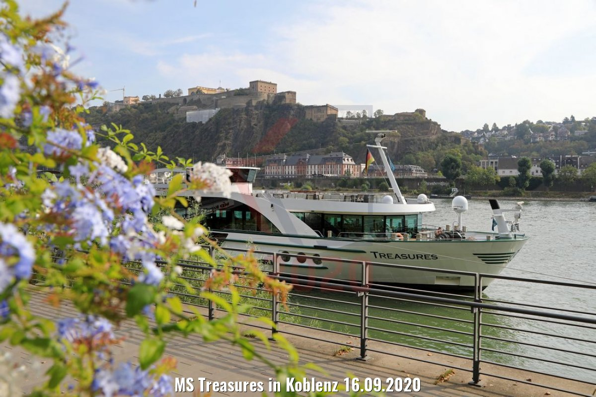 MS Treasures in Koblenz 16.09.2020