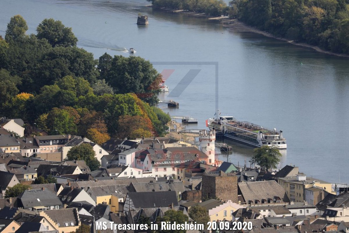 MS Treasures in Rüdesheim 20.09.2020