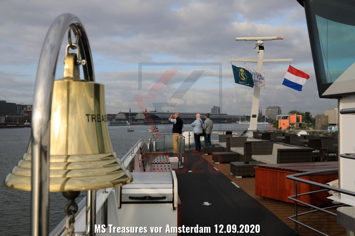 MS Treasures vor Amsterdam 12.09.2020