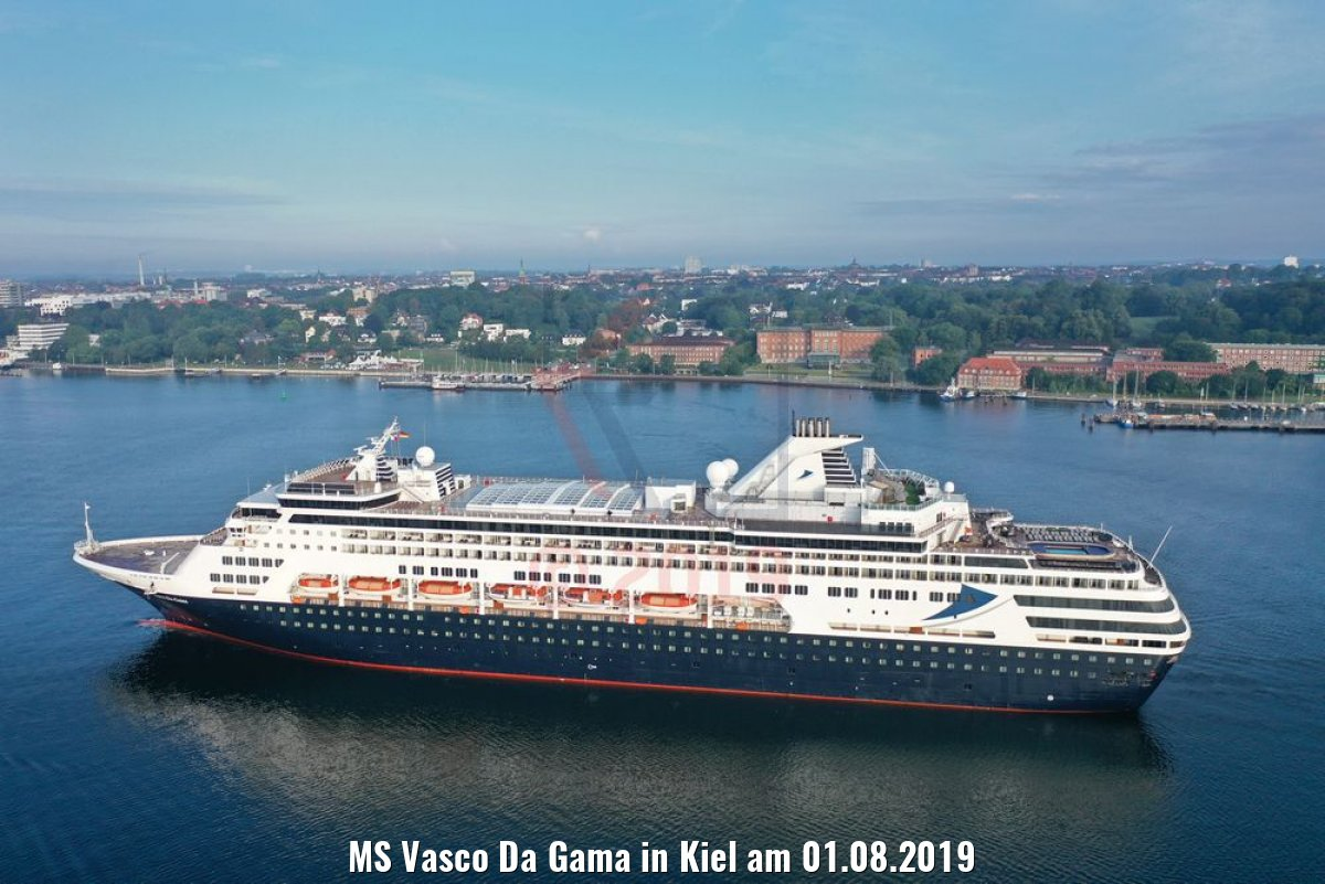MS Vasco Da Gama in Kiel am 01.08.2019
