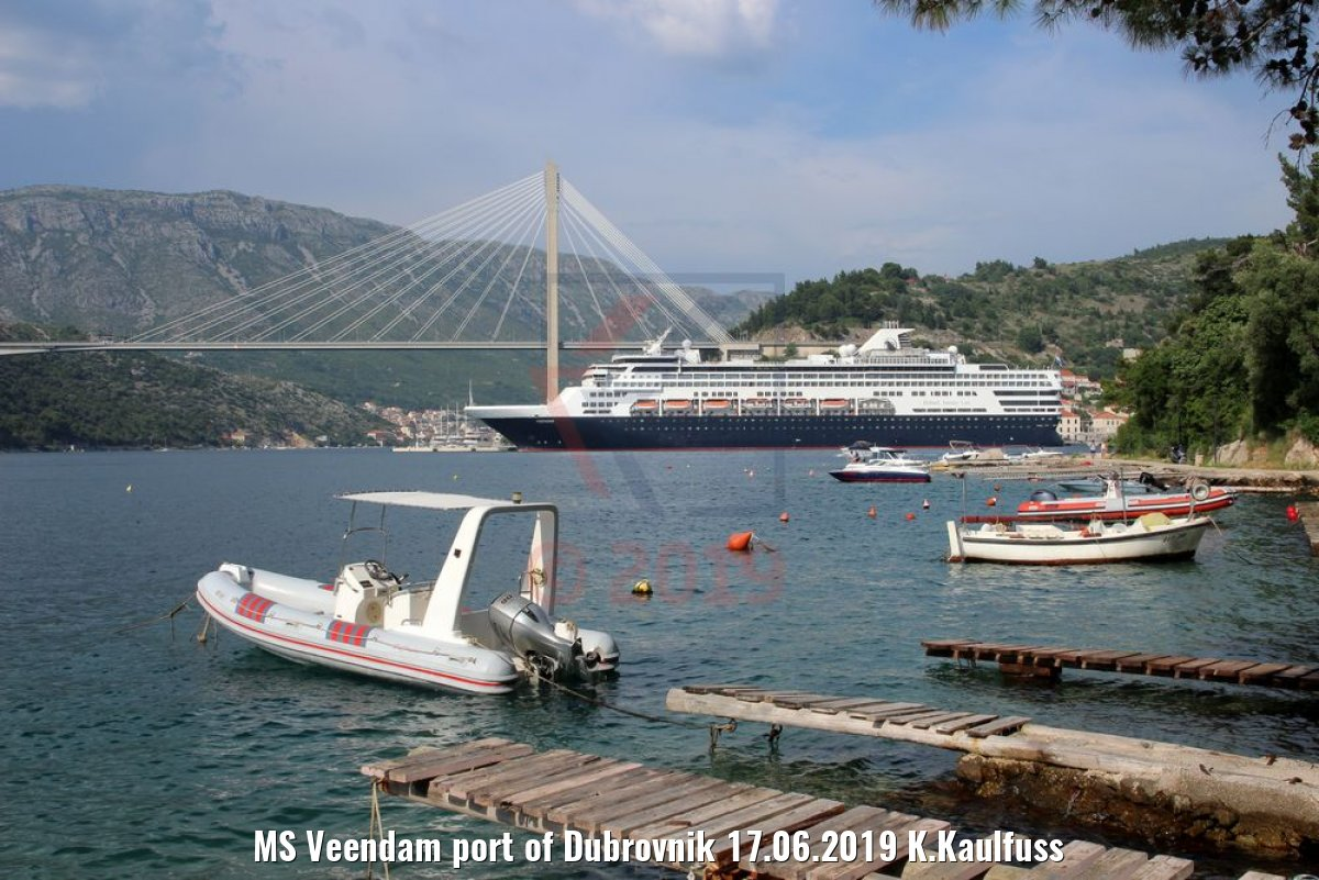 MS Veendam port of Dubrovnik 17.06.2019 K.Kaulfuss