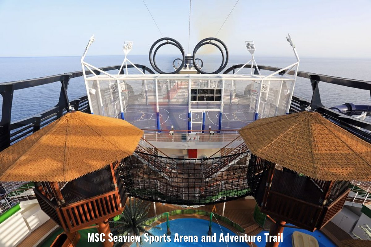 MSC Seaview Sports Arena and Adventure Trail