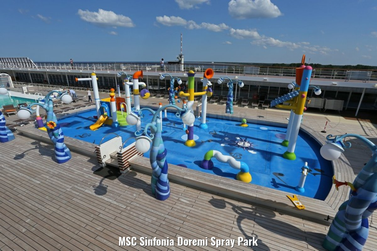 MSC Sinfonia Doremi Spray Park