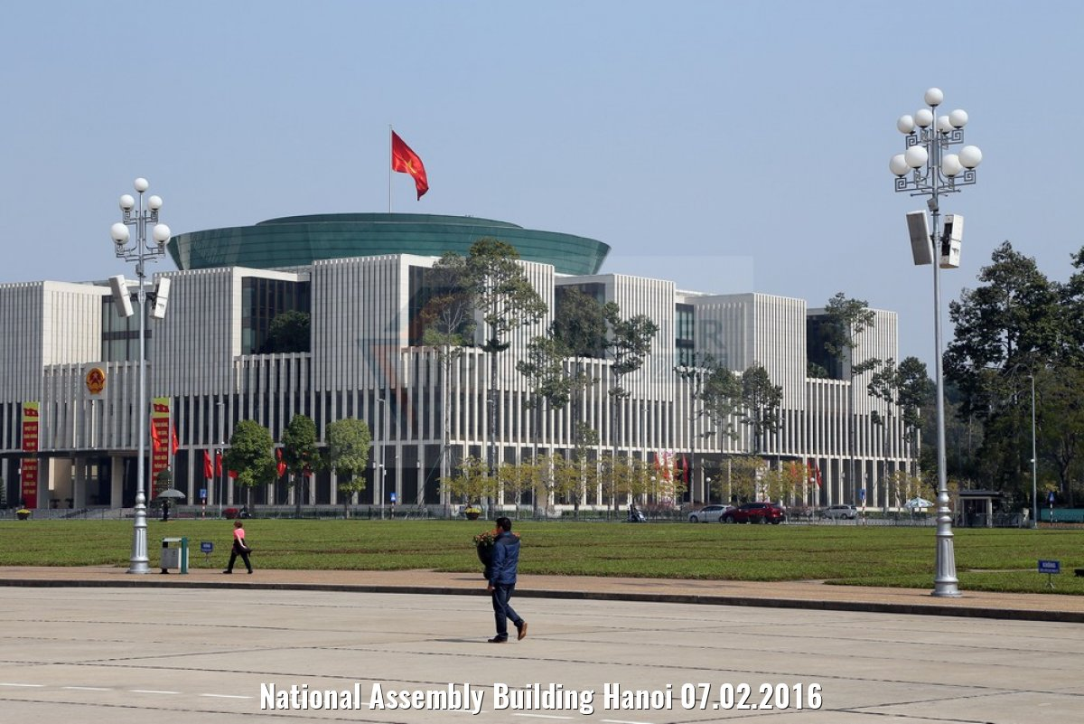 National Assembly Building Hanoi 07.02.2016