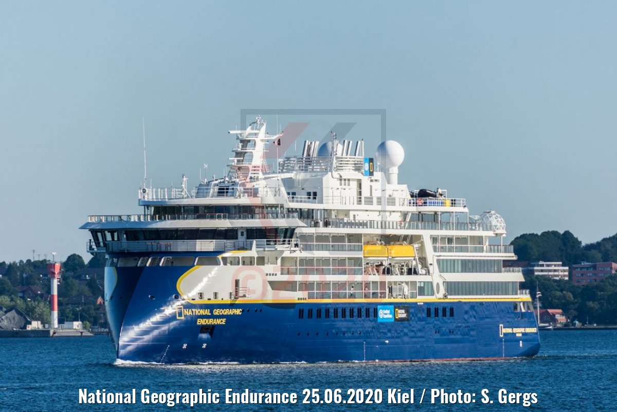 National Geographic Endurance 25.06.2020 Kiel / Photo: S. Gergs