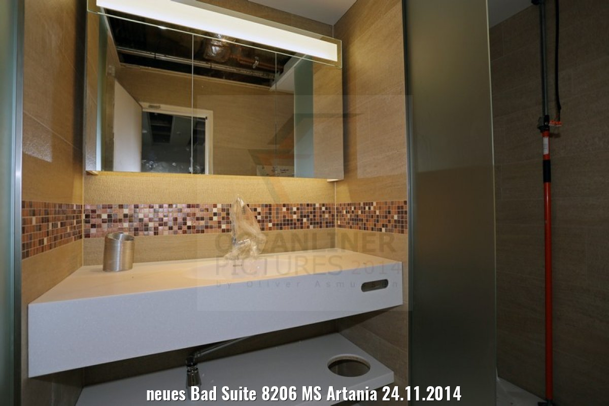 neues Bad Suite 8206 MS Artania 24.11.2014