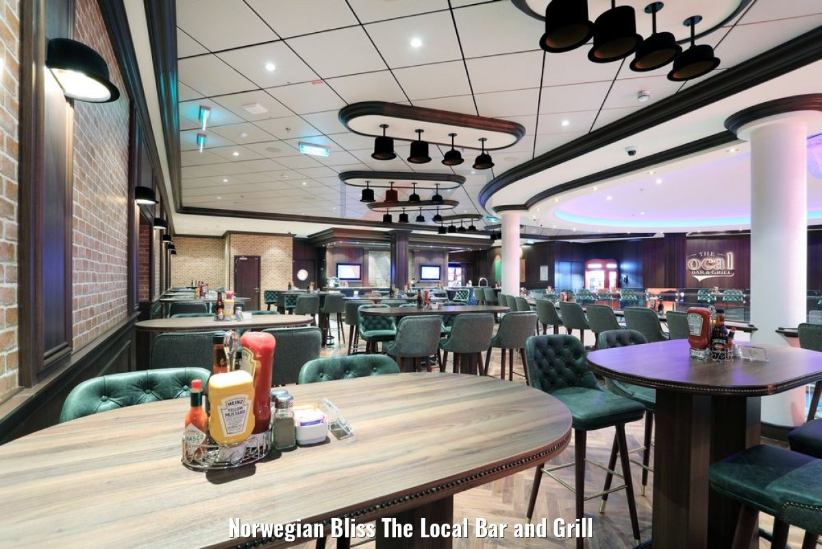 Norwegian Bliss The Local Bar and Grill