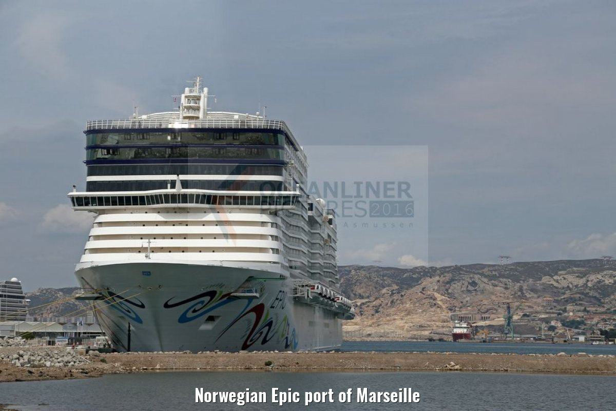 Norwegian Epic port of Marseille