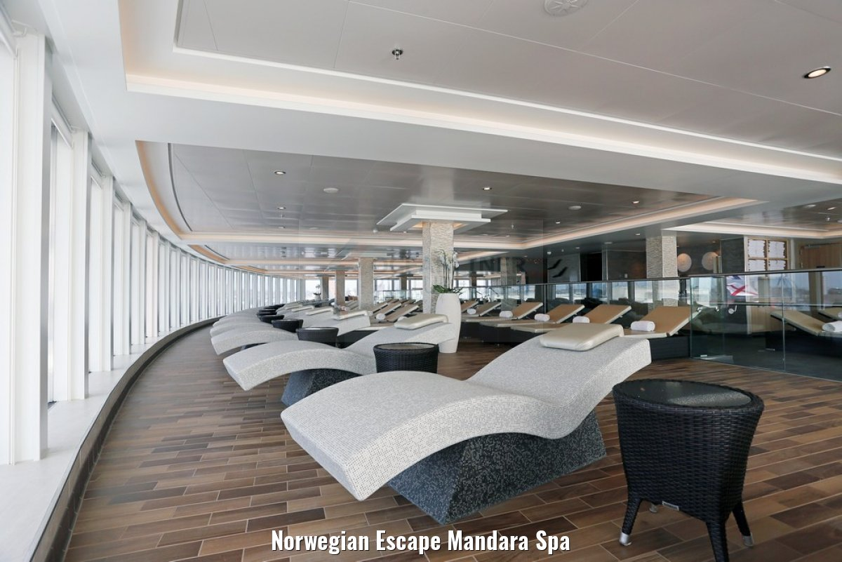 Norwegian Escape Mandara Spa