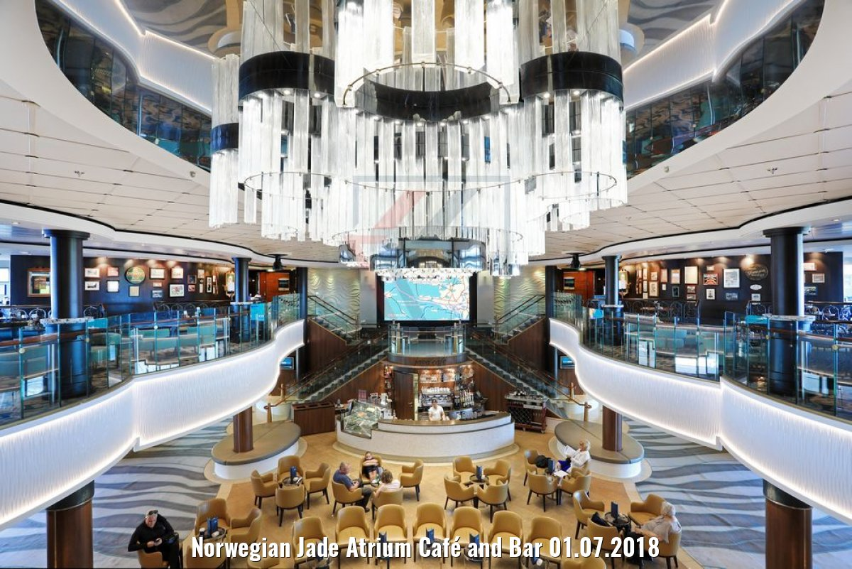 Norwegian Jade Atrium Café and Bar 01.07.2018