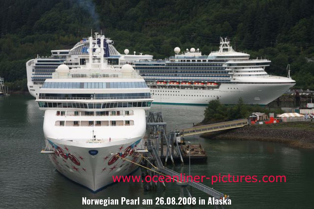Norwegian Pearl am 26.08.2008 in Alaska