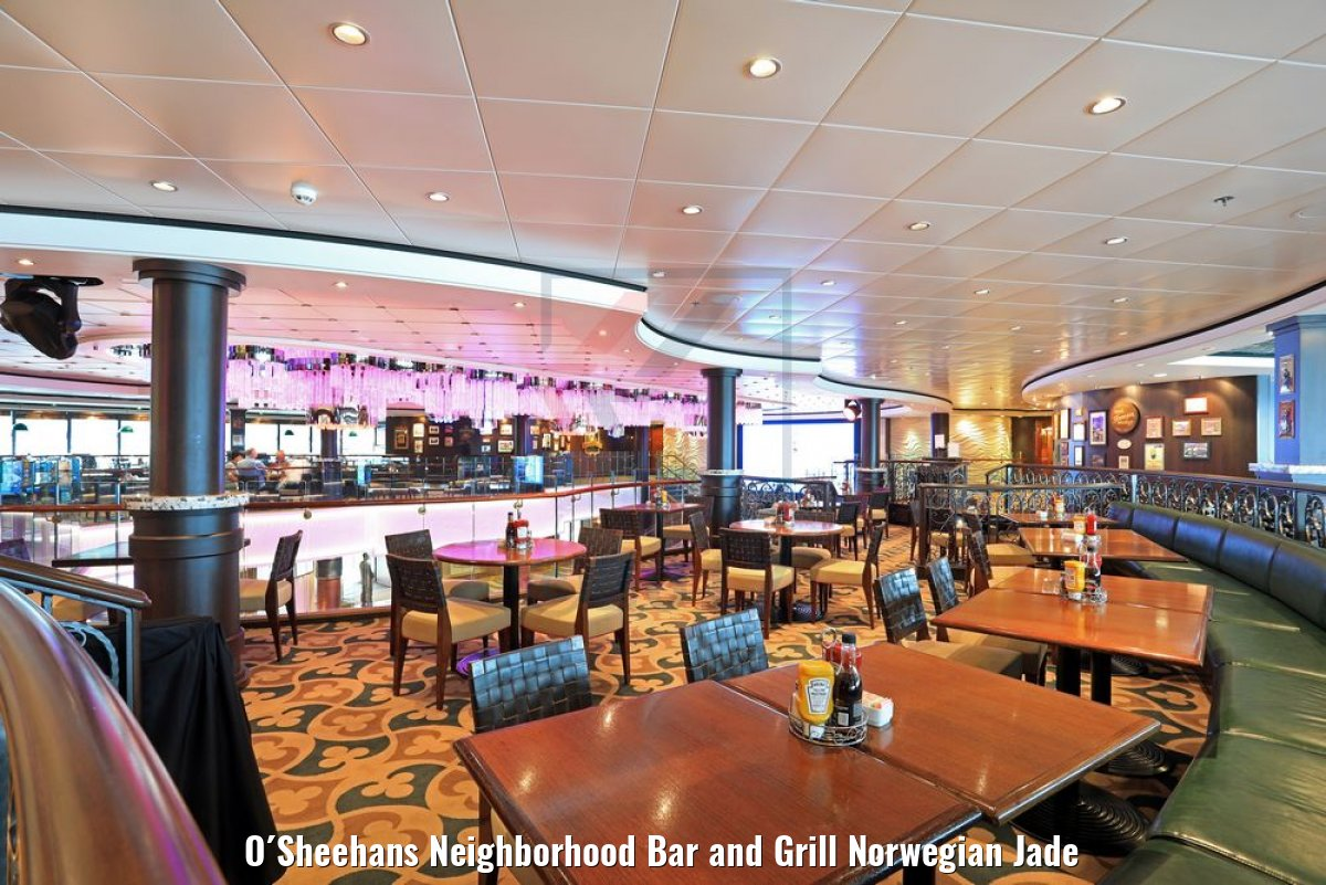 O´Sheehans Neighborhood Bar and Grill Norwegian Jade