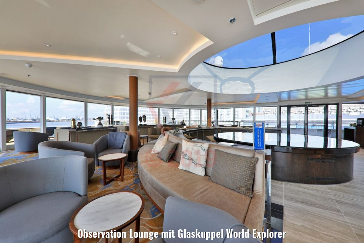 Observation Lounge mit Glaskuppel World Explorer