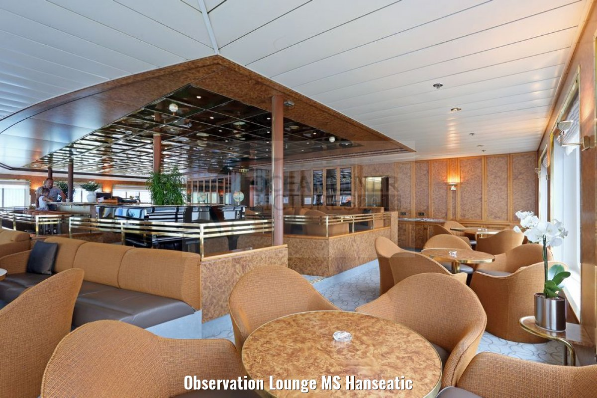 Observation Lounge MS Hanseatic