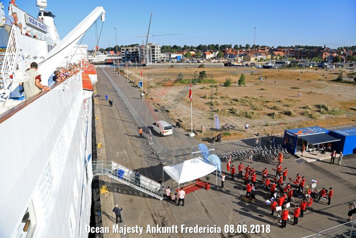 Ocean Majesty Ankunft Fredericia 08.06.2018