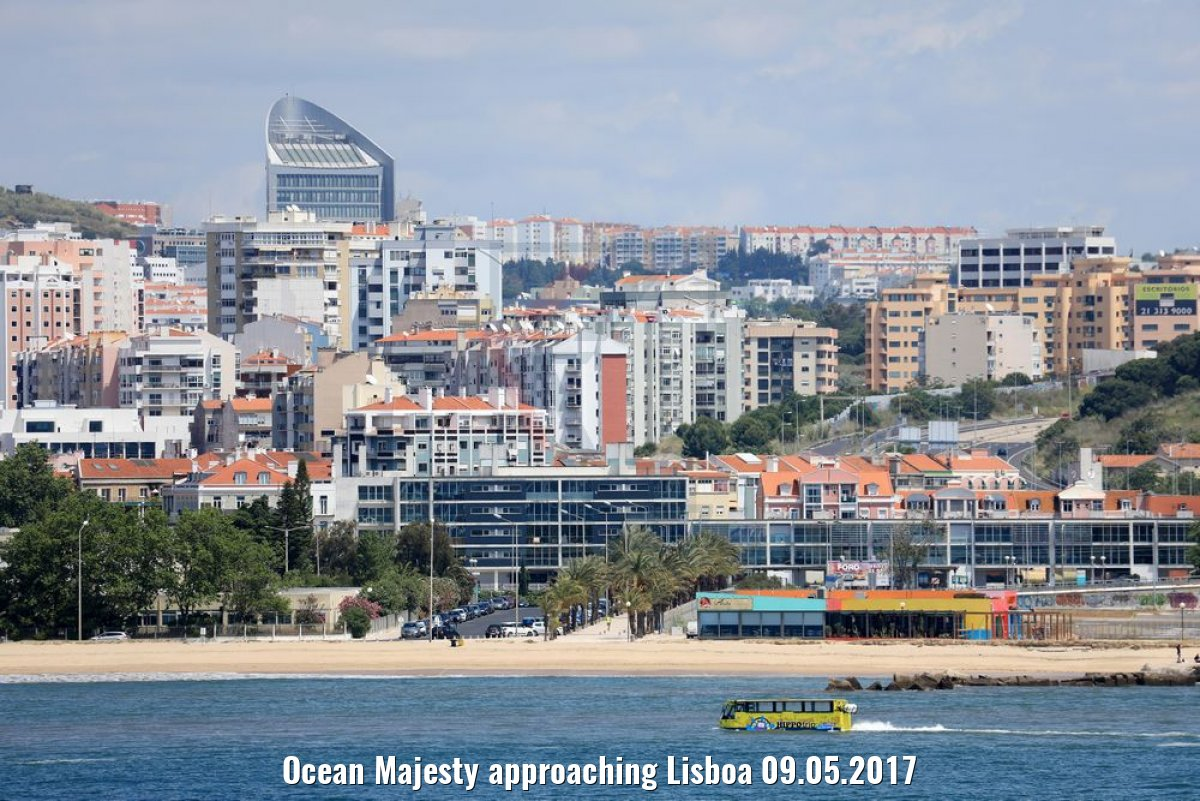 Ocean Majesty approaching Lisboa 09.05.2017
