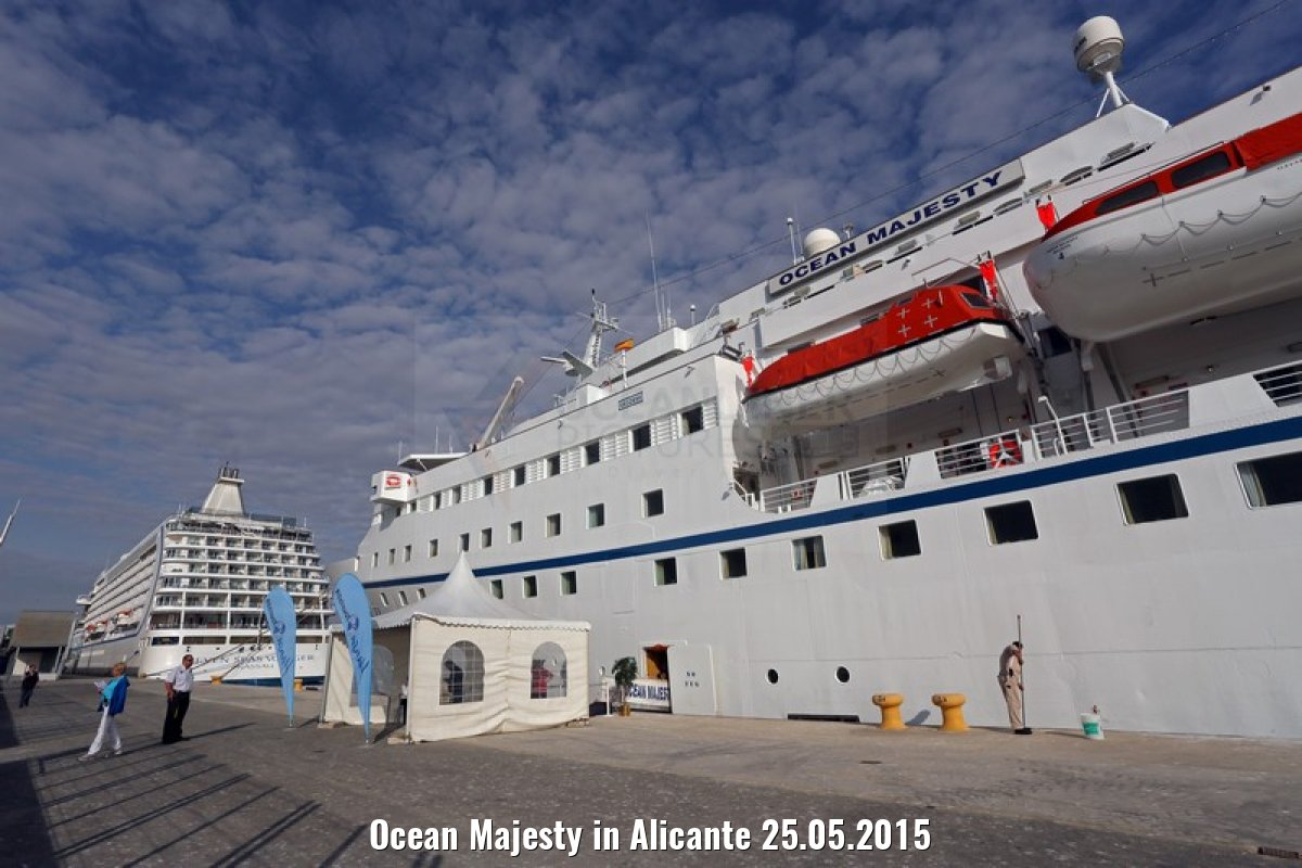 Ocean Majesty in Alicante 25.05.2015