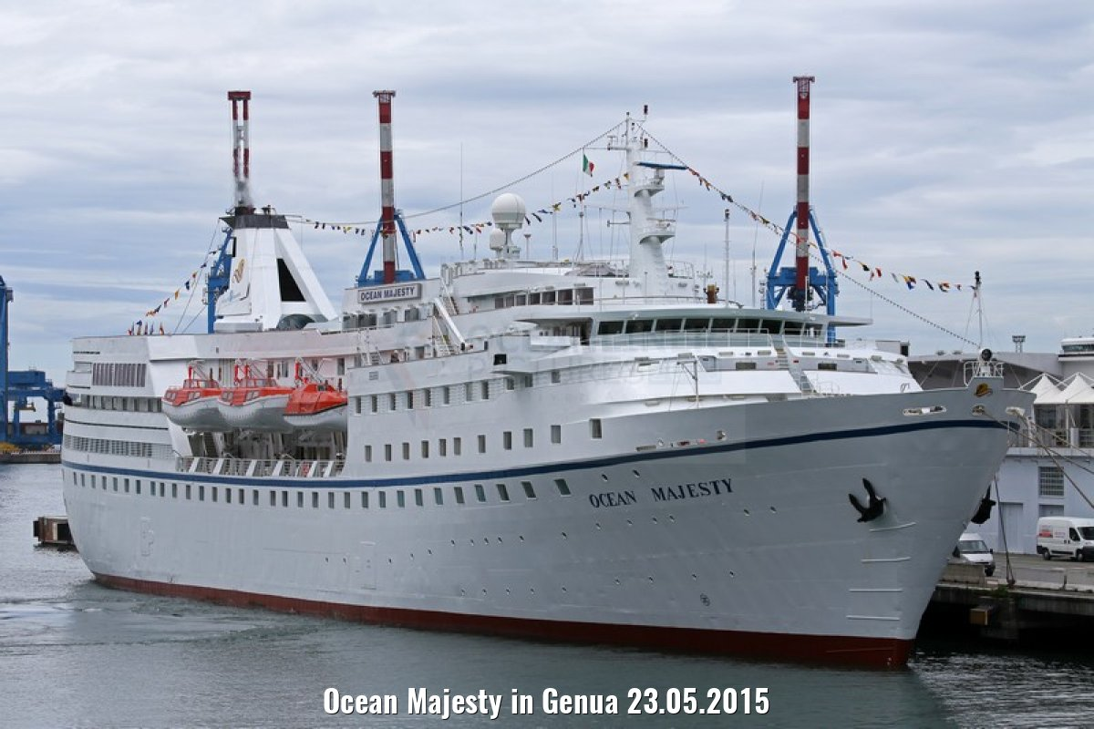 Ocean Majesty in Genua 23.05.2015