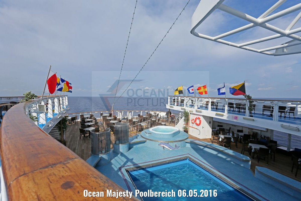 Ocean Majesty Poolbereich 06.05.2016
