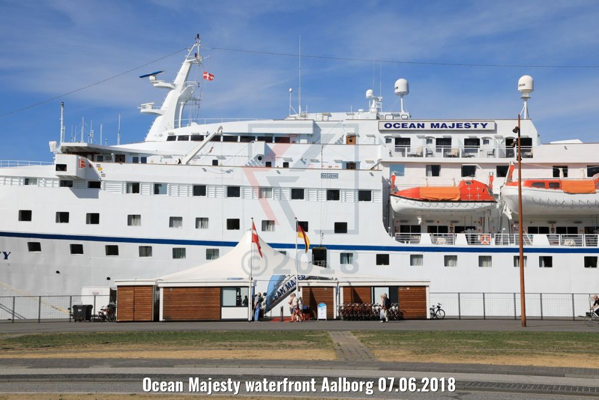 Ocean Majesty waterfront Aalborg 07.06.2018