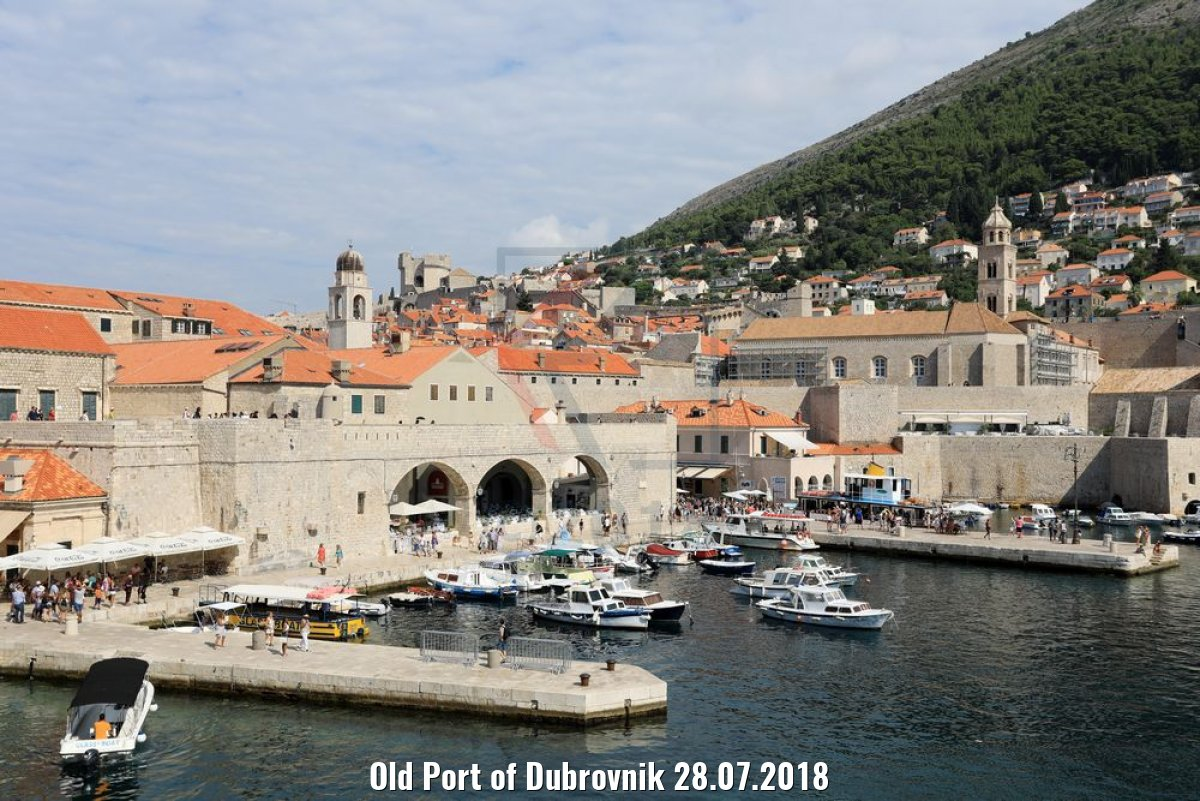 Old Port of Dubrovnik 28.07.2018