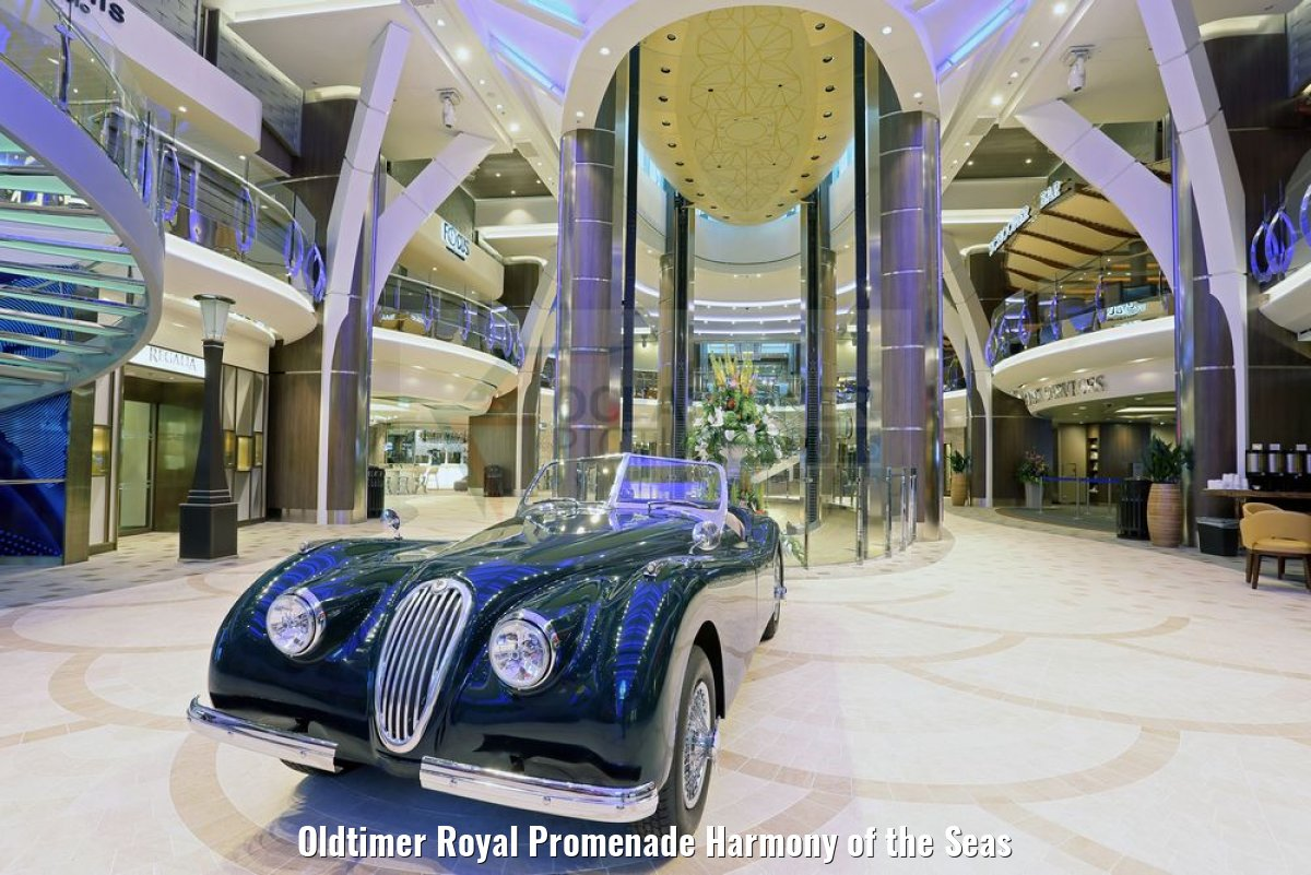 Oldtimer Royal Promenade Harmony of the Seas