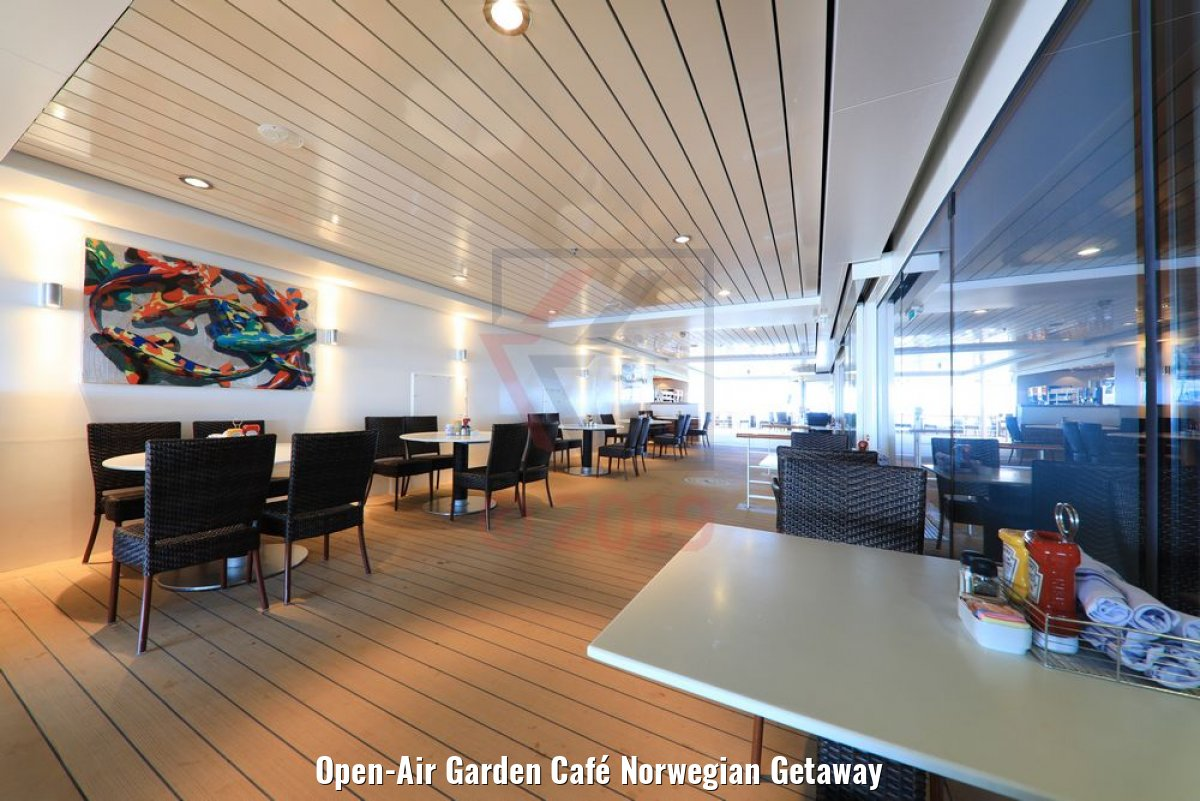 Open-Air Garden Café Norwegian Getaway