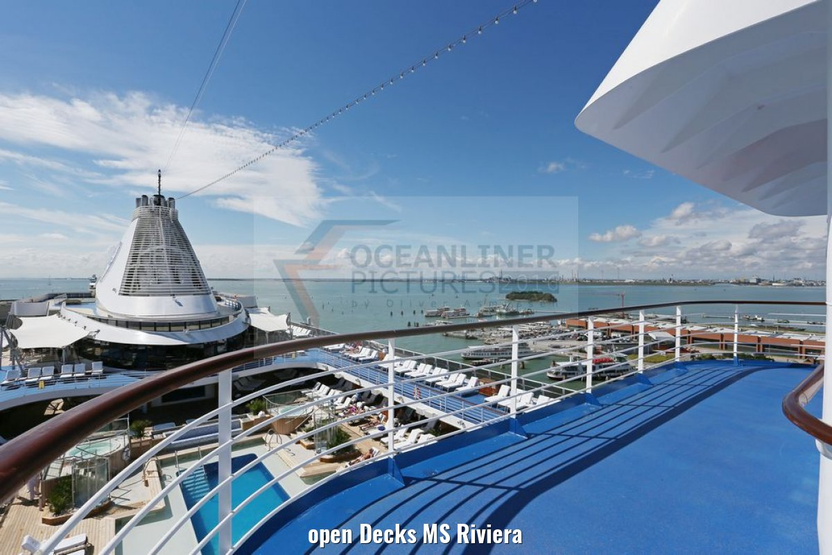 open Decks MS Riviera