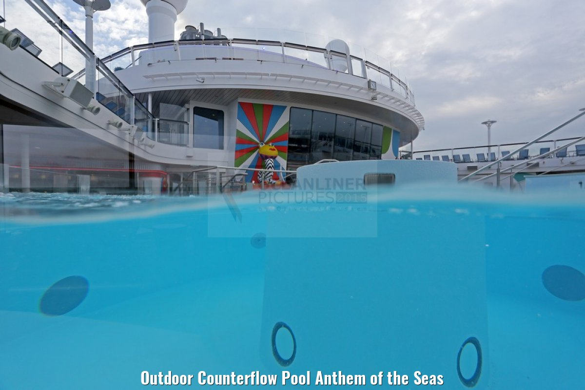 Outdoor Counterflow Pool Anthem of the Seas