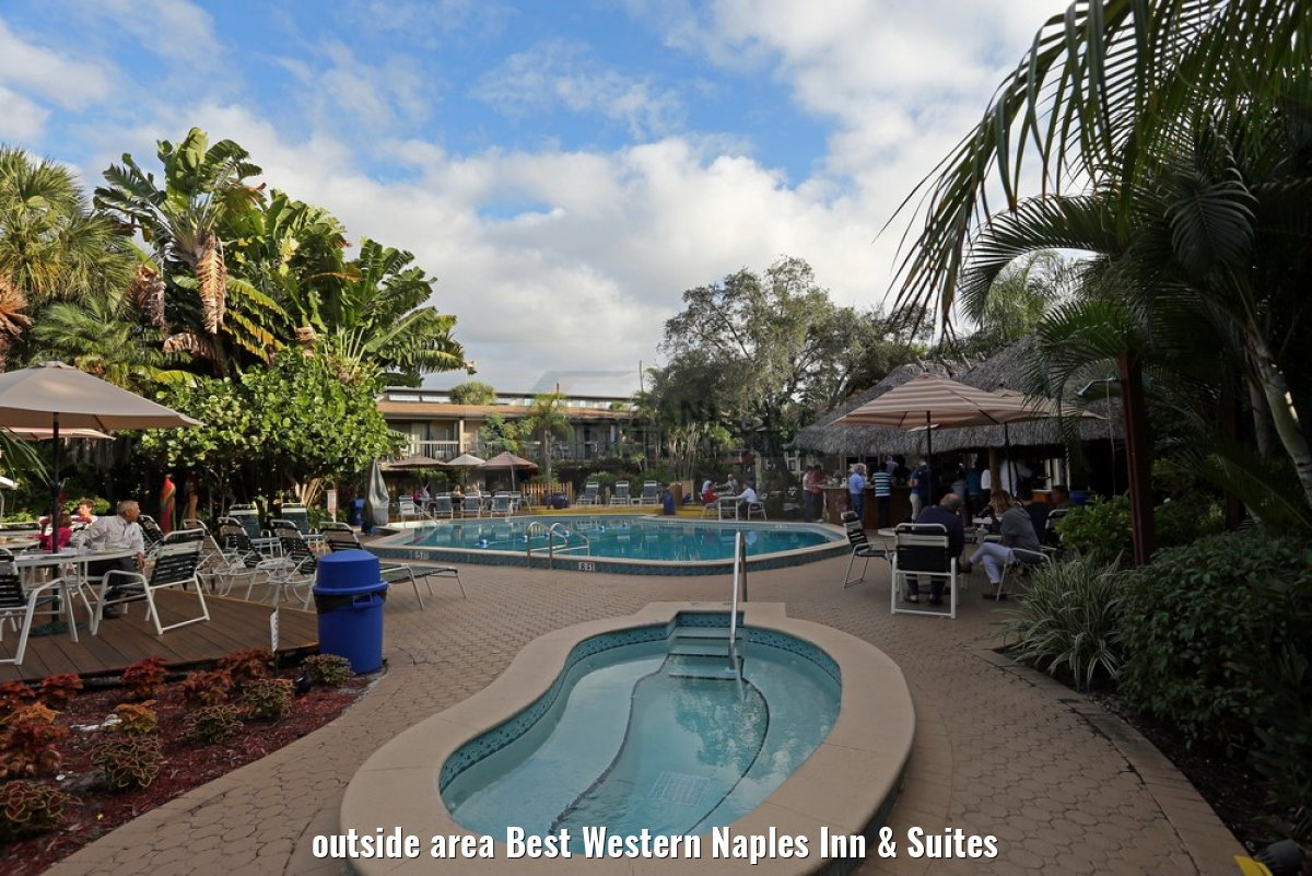 outside area Best Western Naples Inn & Suites
