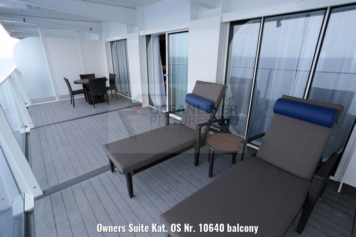 Owners Suite Kat. OS Nr. 10640 balcony