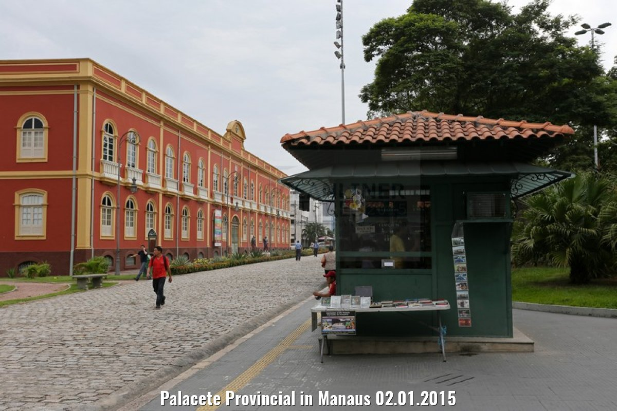 Palacete Provincial in Manaus 02.01.2015