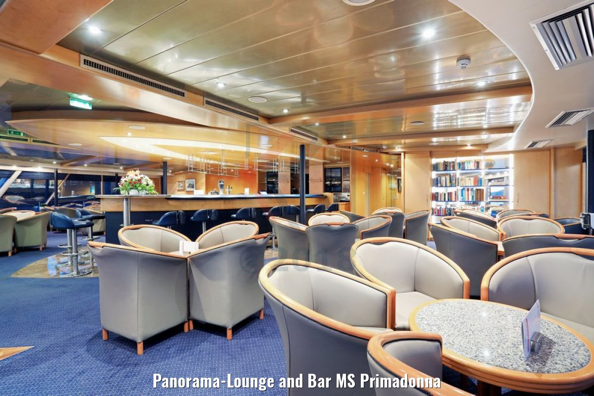Panorama-Lounge and Bar MS Primadonna