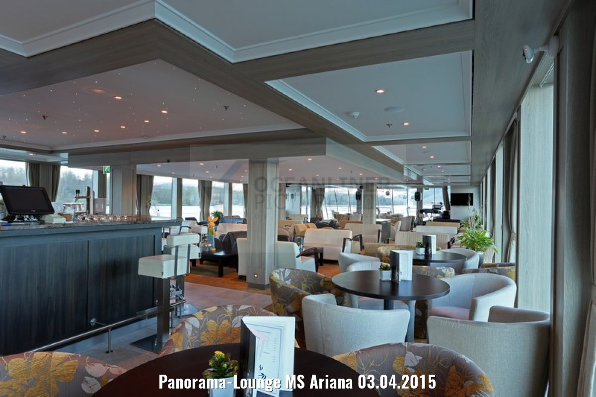 Panorama-Lounge MS Ariana 03.04.2015