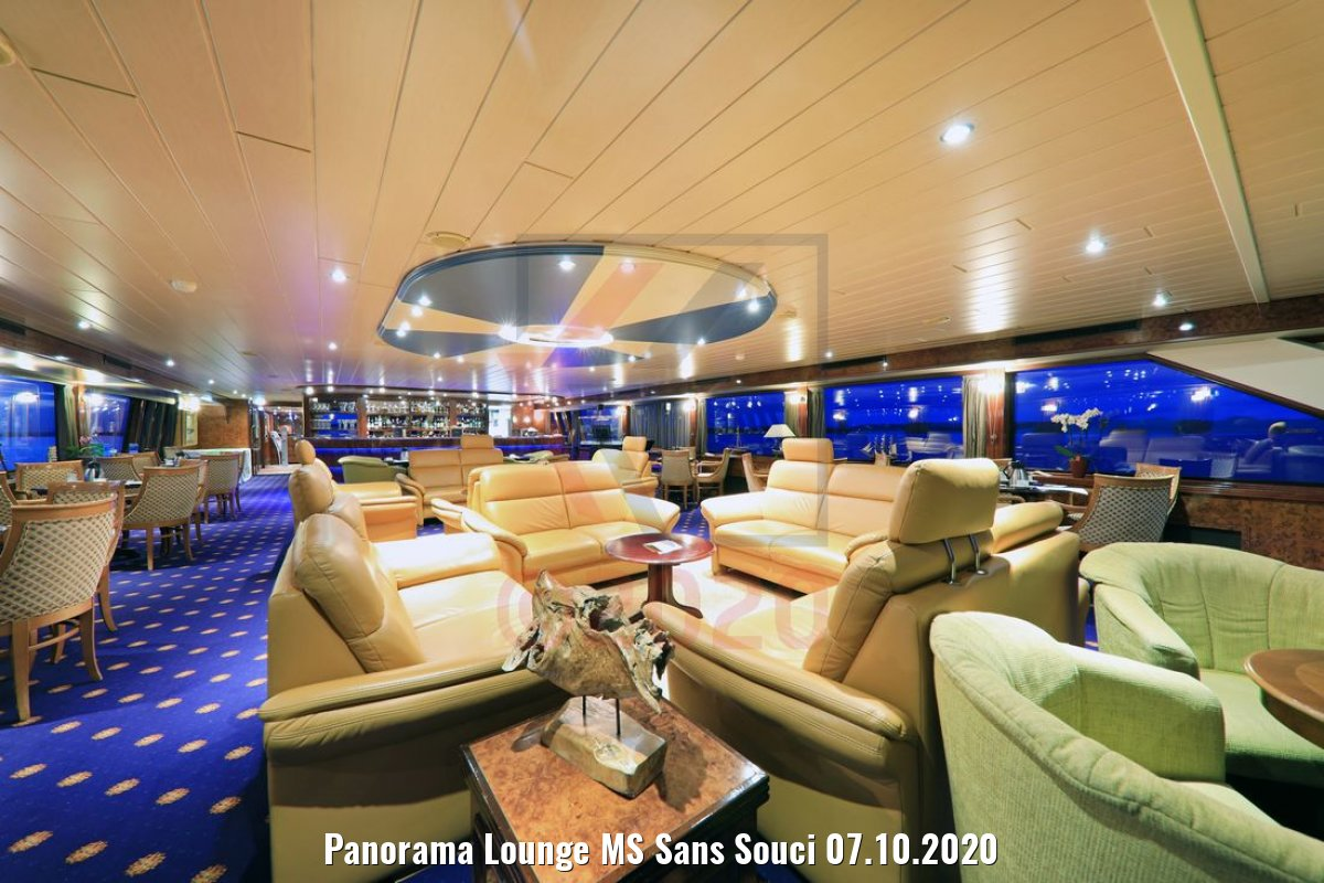 Panorama Lounge MS Sans Souci 07.10.2020