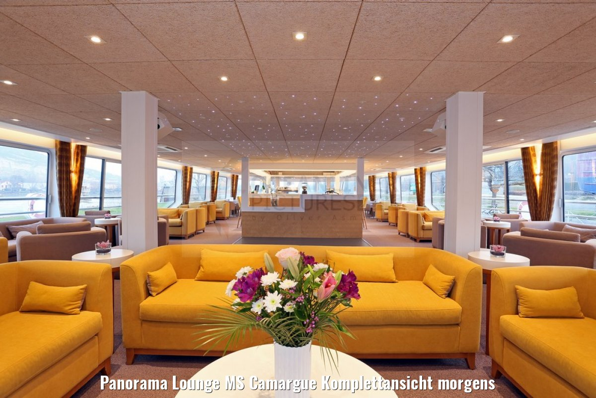 Panorama Lounge MS Camargue Komplettansicht morgens