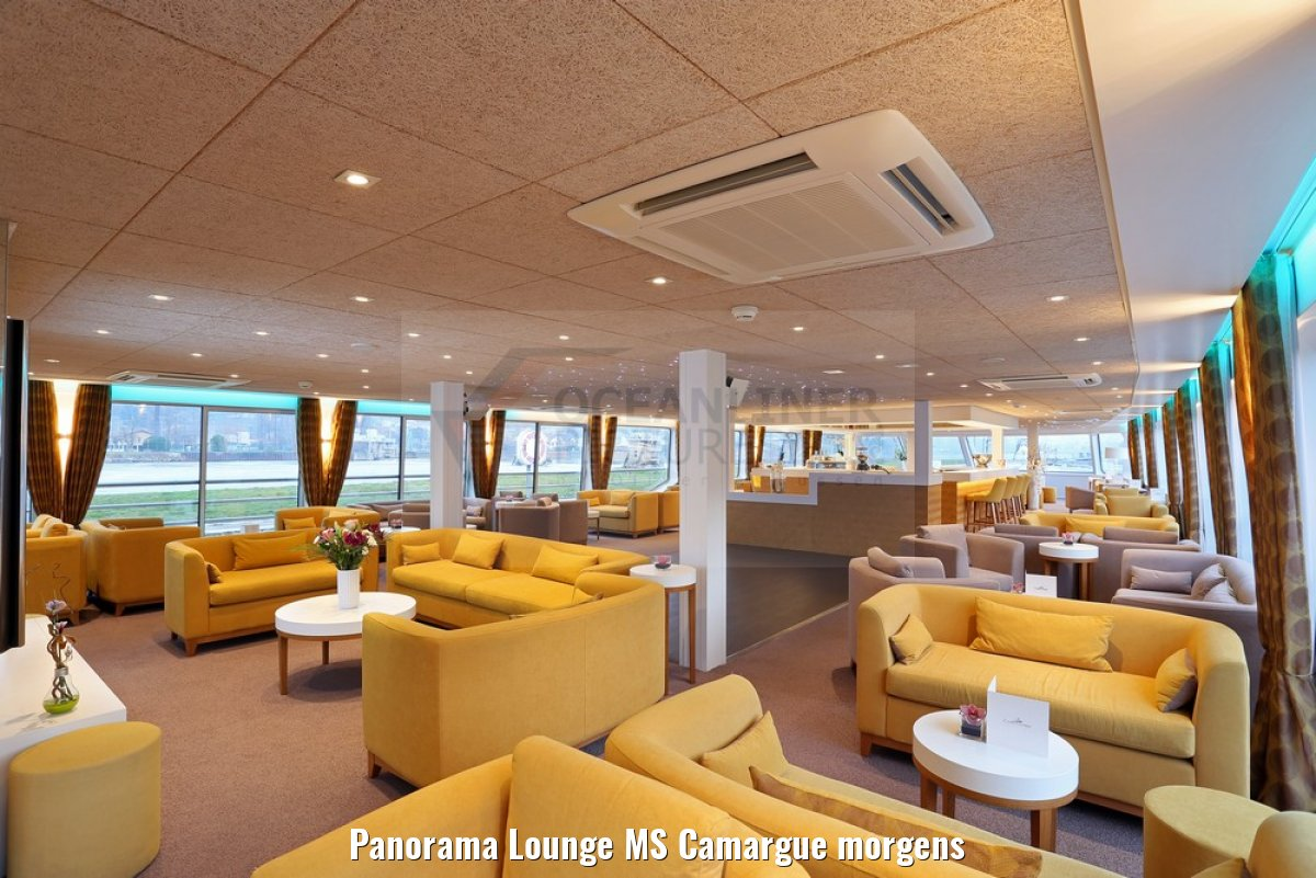 Panorama Lounge MS Camargue morgens