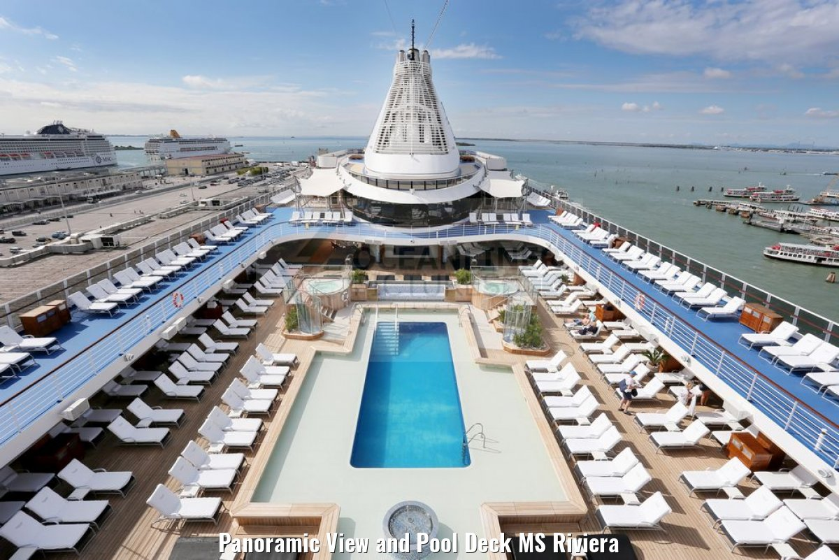 Panoramic View and Pool Deck MS Riviera