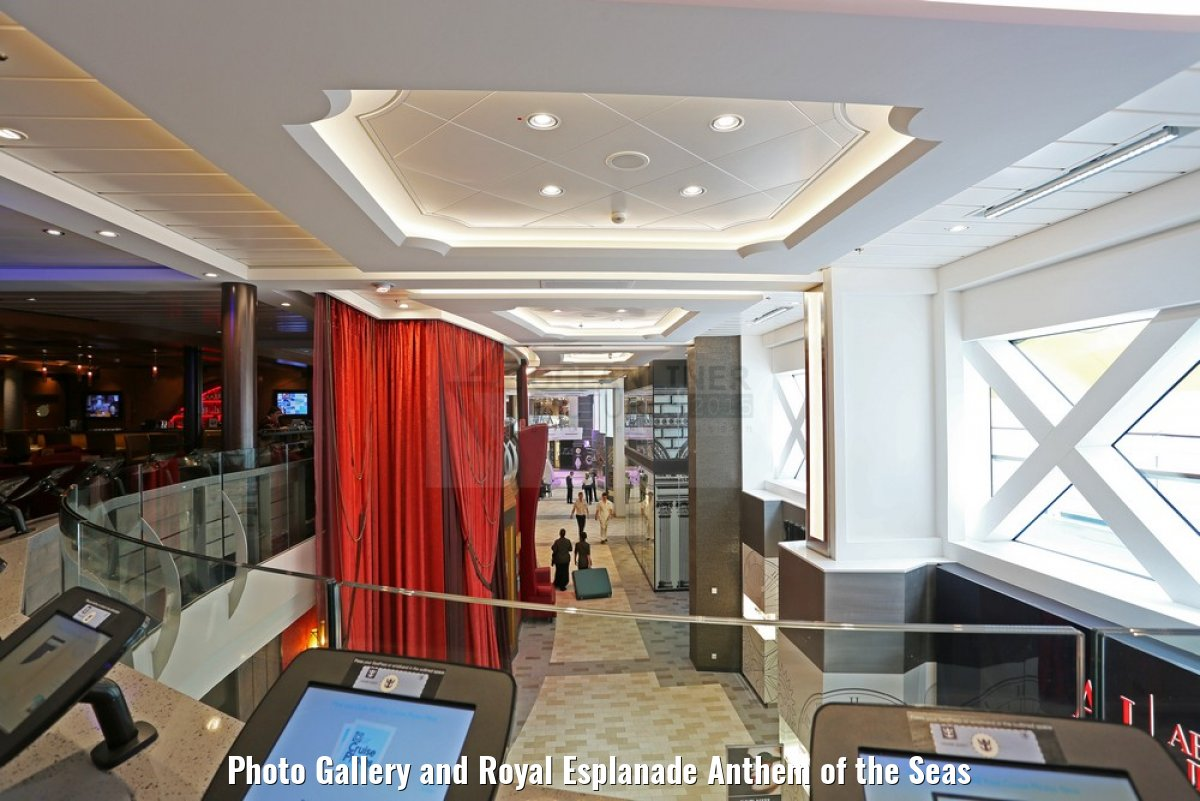 Photo Gallery and Royal Esplanade Anthem of the Seas