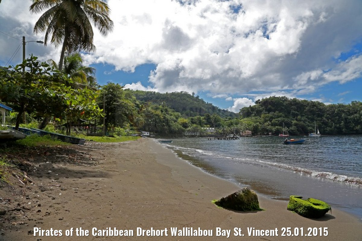 Pirates of the Caribbean Drehort Wallilabou Bay St. Vincent 25.01.2015