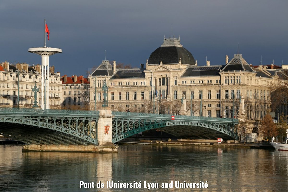 Pont de lUniversité Lyon and Université