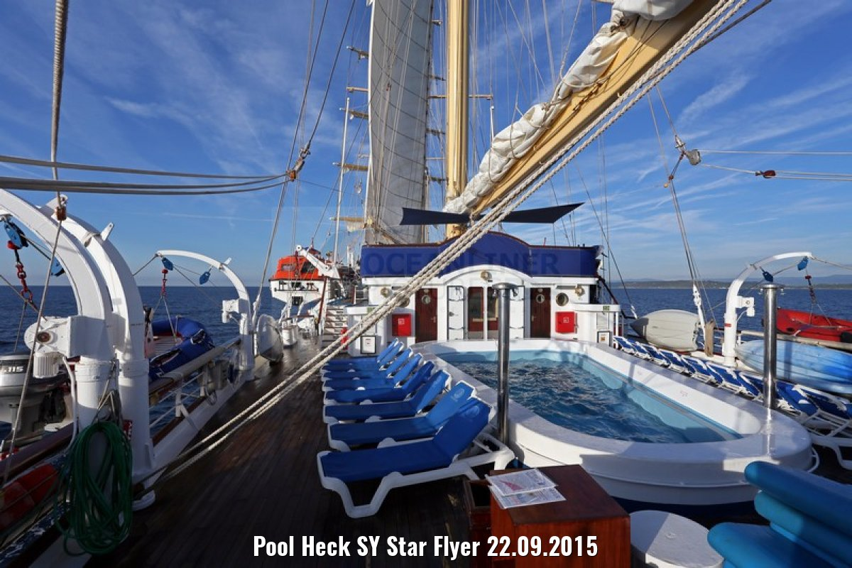 Pool Heck SY Star Flyer 22.09.2015