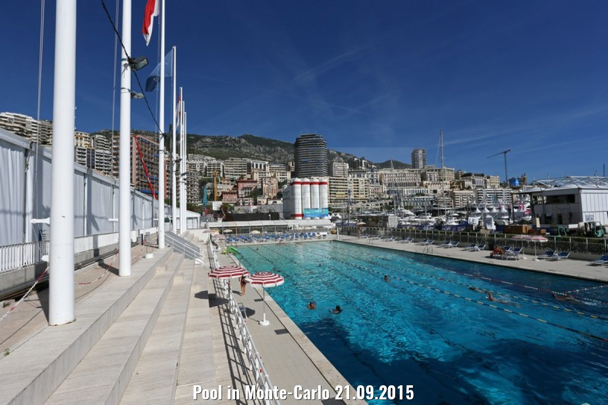 Pool in Monte-Carlo 21.09.2015