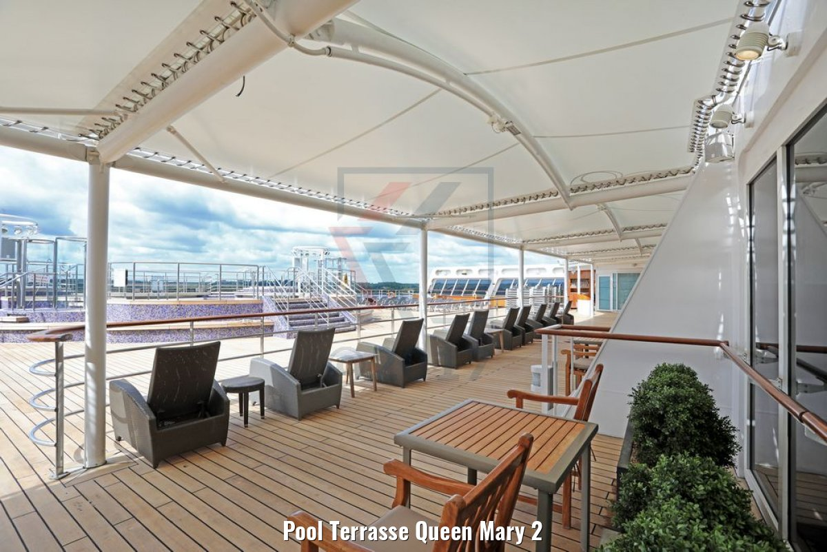 Pool Terrasse Queen Mary 2