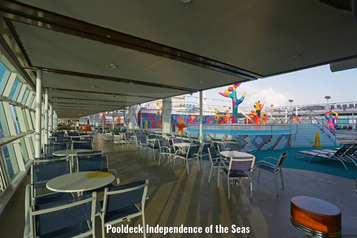 Pooldeck Independence of the Seas
