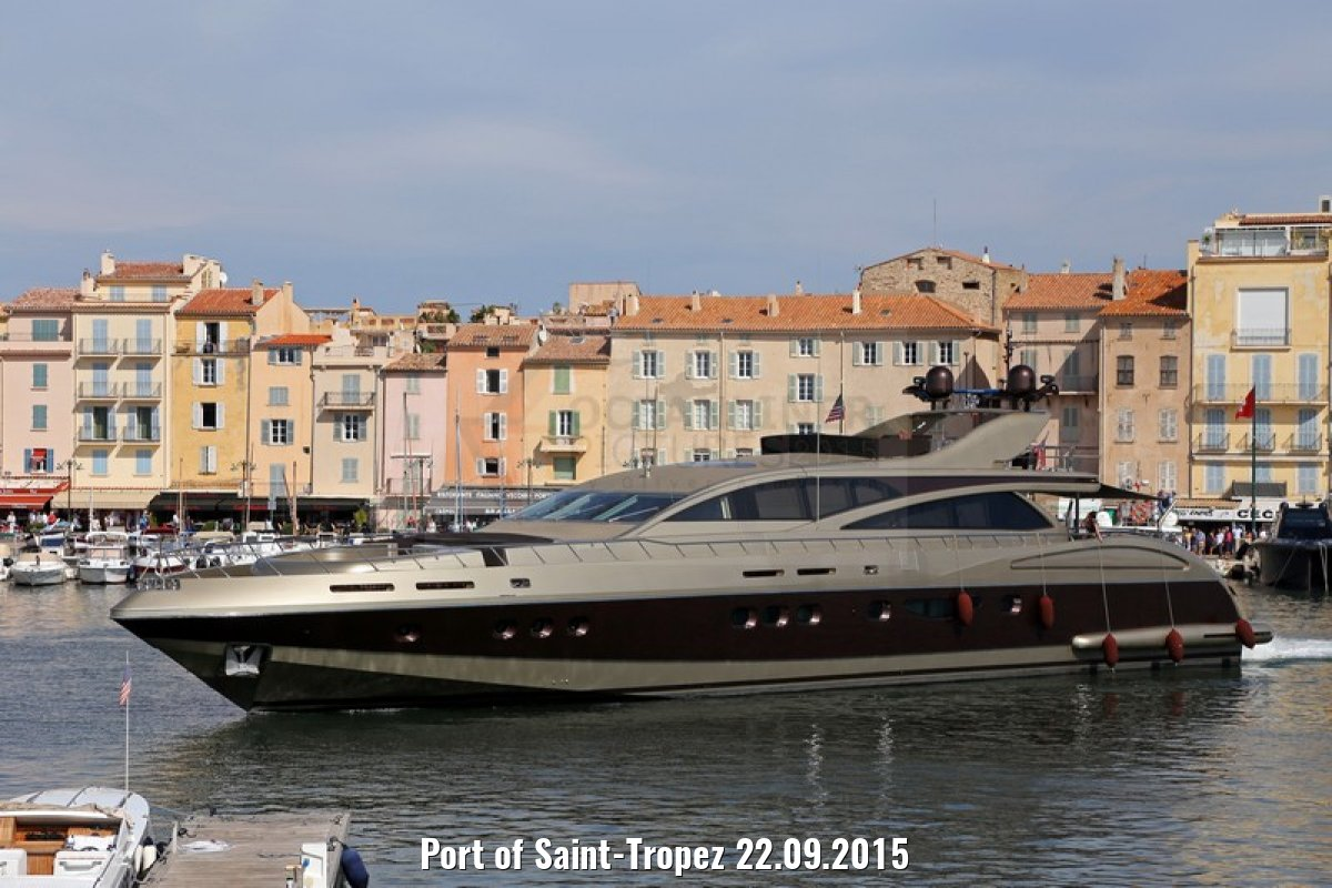Port of Saint-Tropez 22.09.2015
