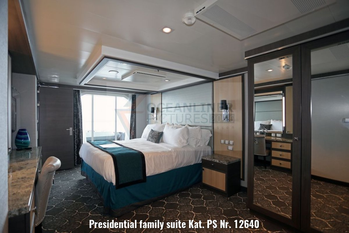 Presidential family suite Kat. PS Nr. 12640