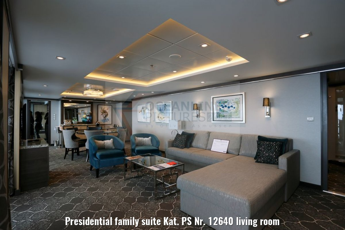 Presidential family suite Kat. PS Nr. 12640 living room