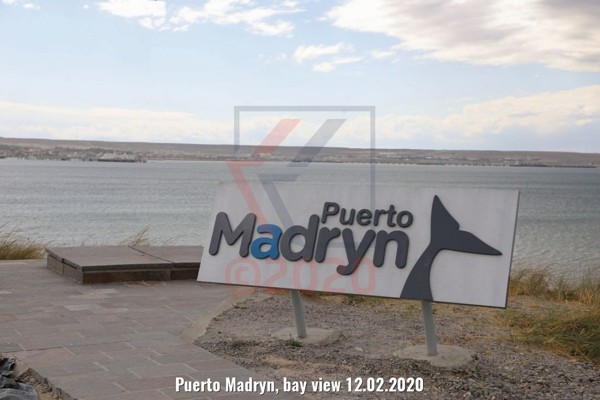 Puerto Madryn, bay view 12.02.2020