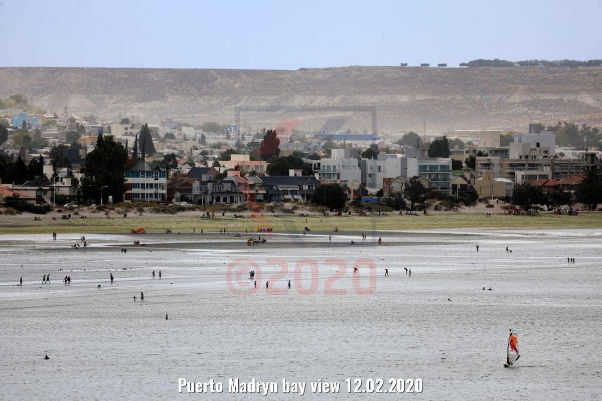 Puerto Madryn bay view 12.02.2020